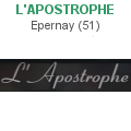 librairie l'Apostrophe Epernay